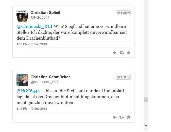 Twitter Dialog
