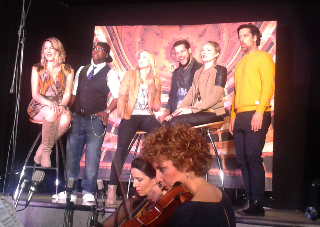 The Cast beim Live Album-Recording (Foto: Ute Vogel)