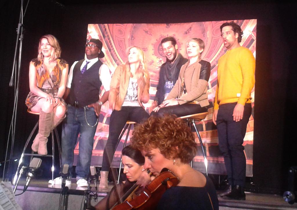 The Cast beim Live Album-Recording (Foto: Ute Vogel)