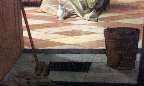 Der Putzeimer in der Kunst
