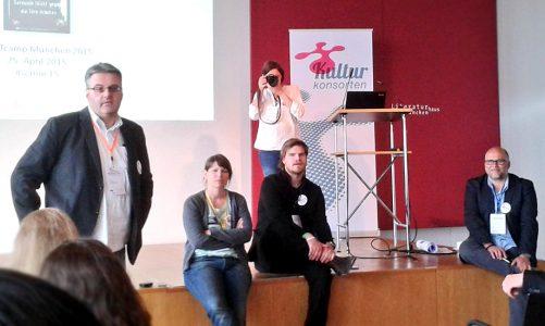 stARtcamp München 2015 – Zeit für den nächsten Schritt?