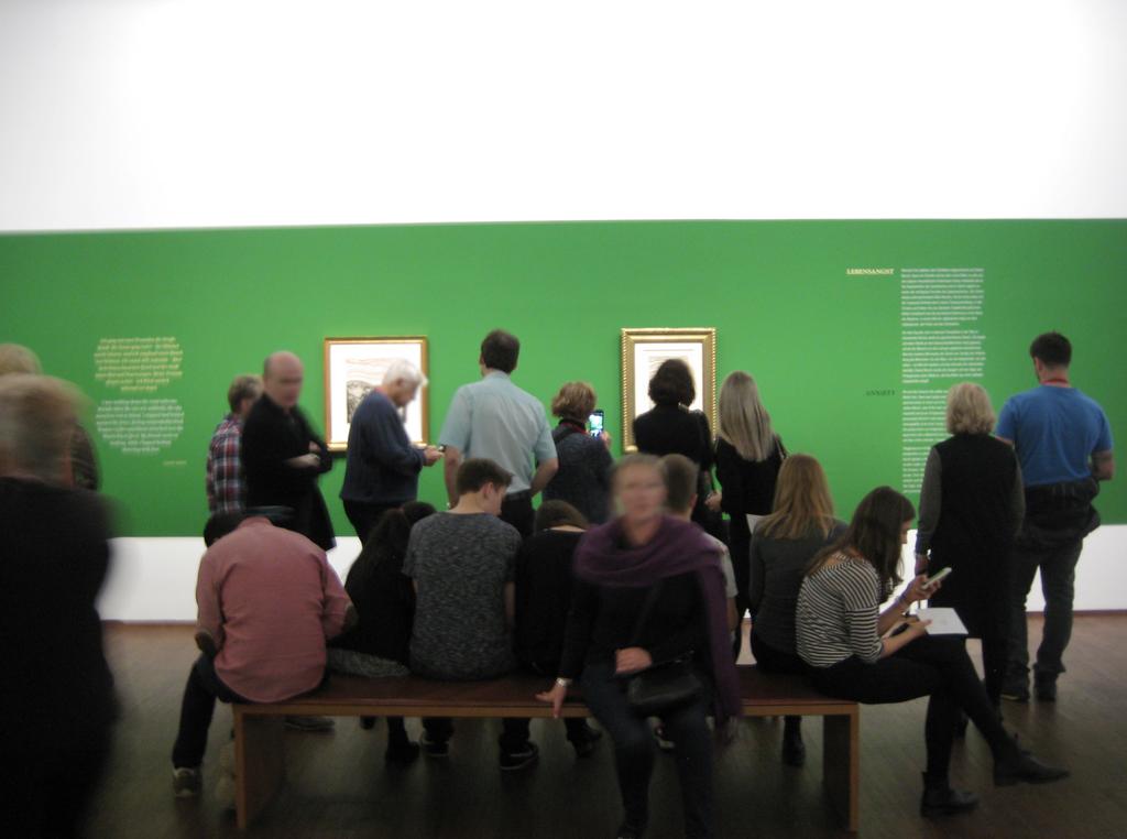 Albertina - Edvard Munch, Der Schrei - oder das Geschrei?