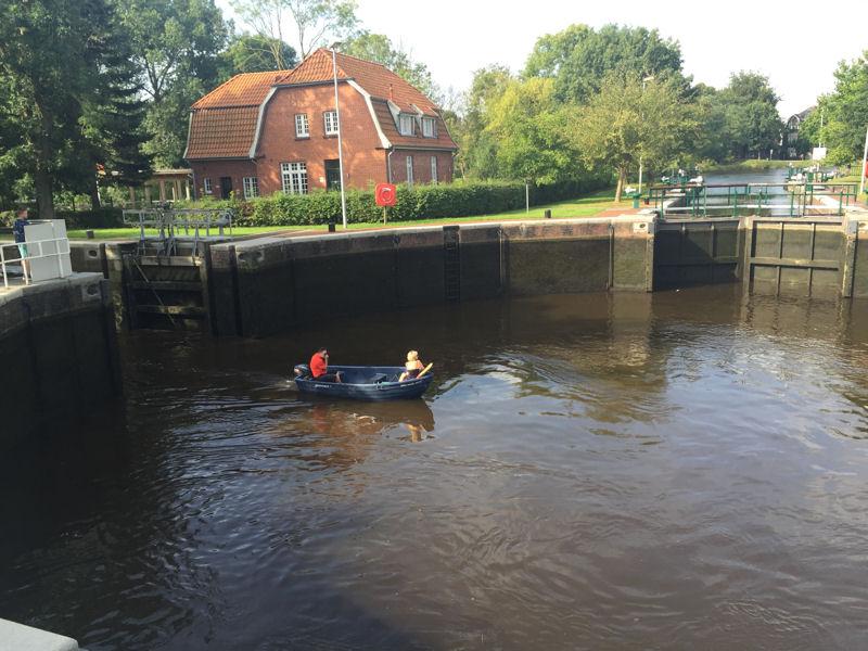 Kesselschleuse, Emden