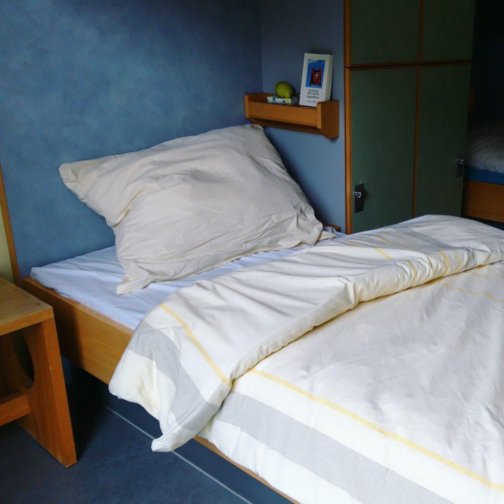 Mein Schlafgemach in der Jugendherberge Bremen