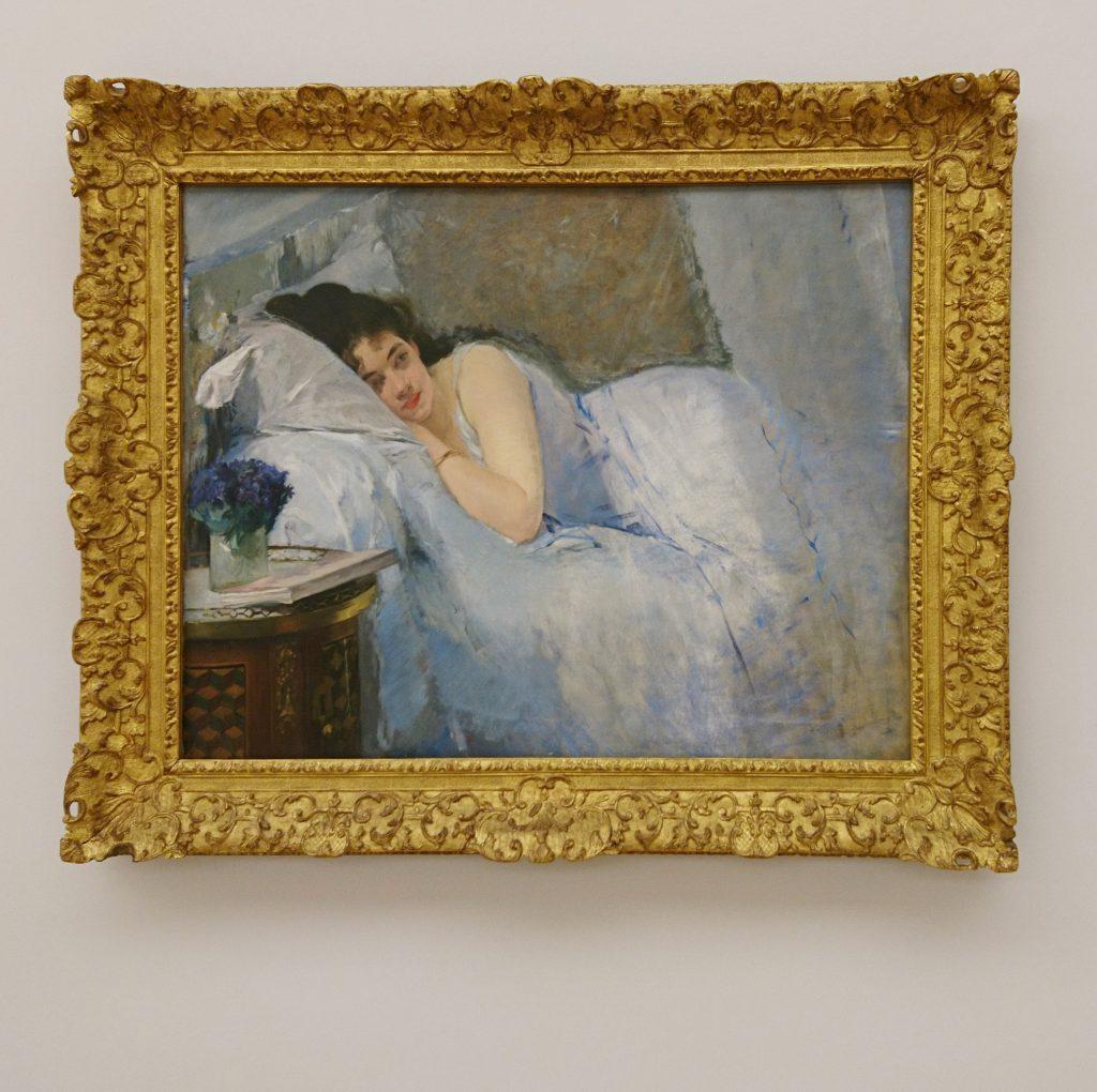 Symboldbild Sonntag, gemalt von einer Frau: Eva Gonzales